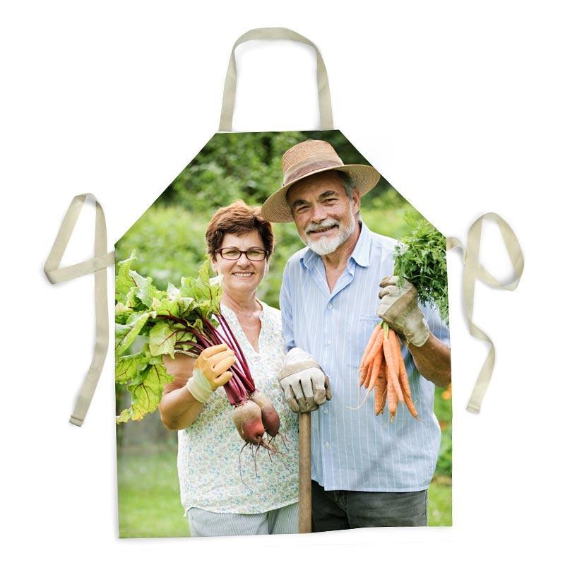 grembiule da cucina personalizzato per i nonni